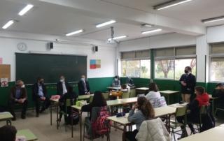 presentación cómic acoso escolar IES Mariana Pineda