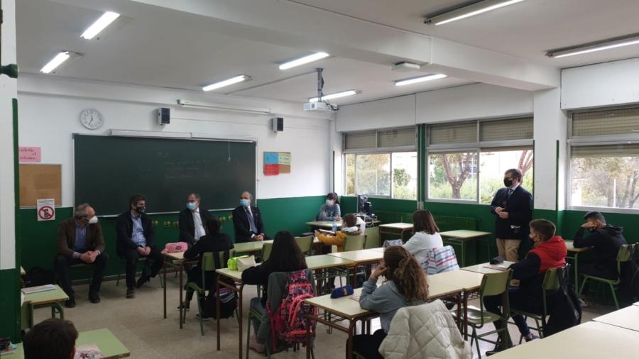 Librerías de Madrid colabora en una acción contra el acoso escolar
