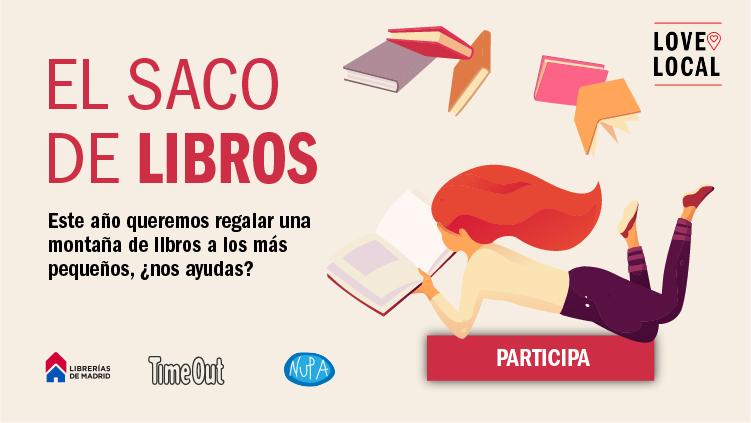 Participamos en la campaña solidaria 'El saco de libros'