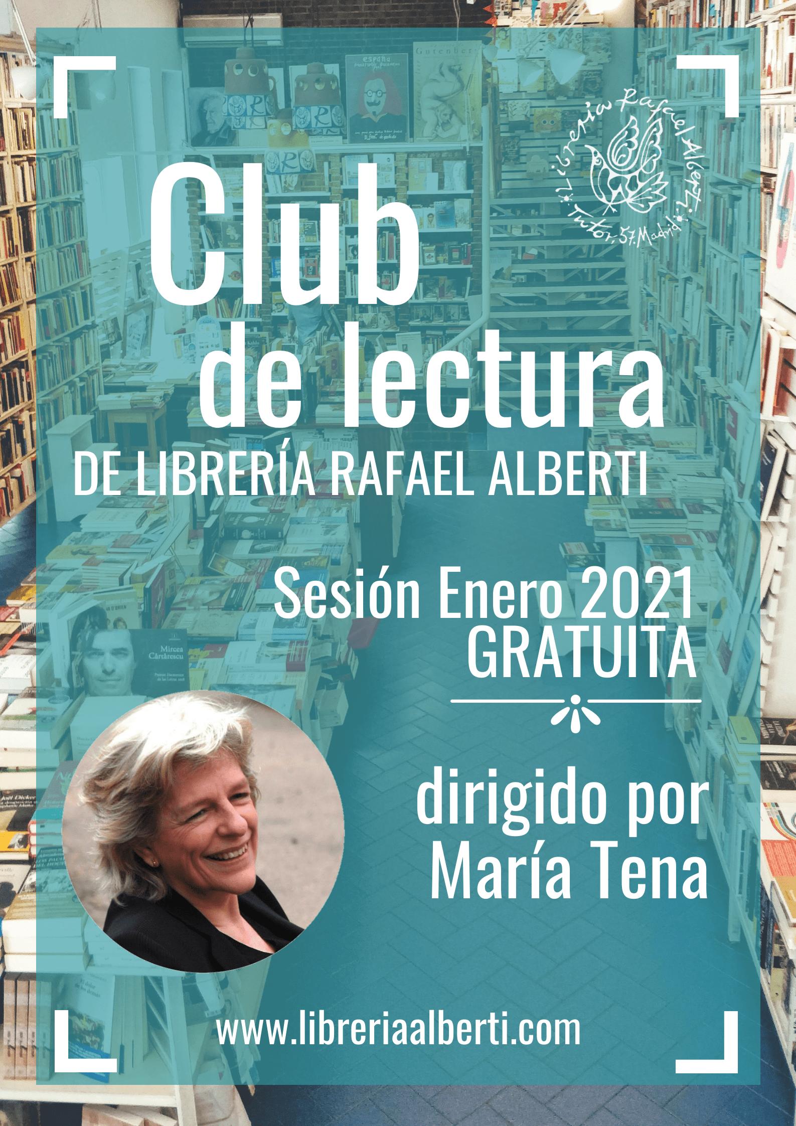 CLUB DE LECTURA de María Tena en Alberti