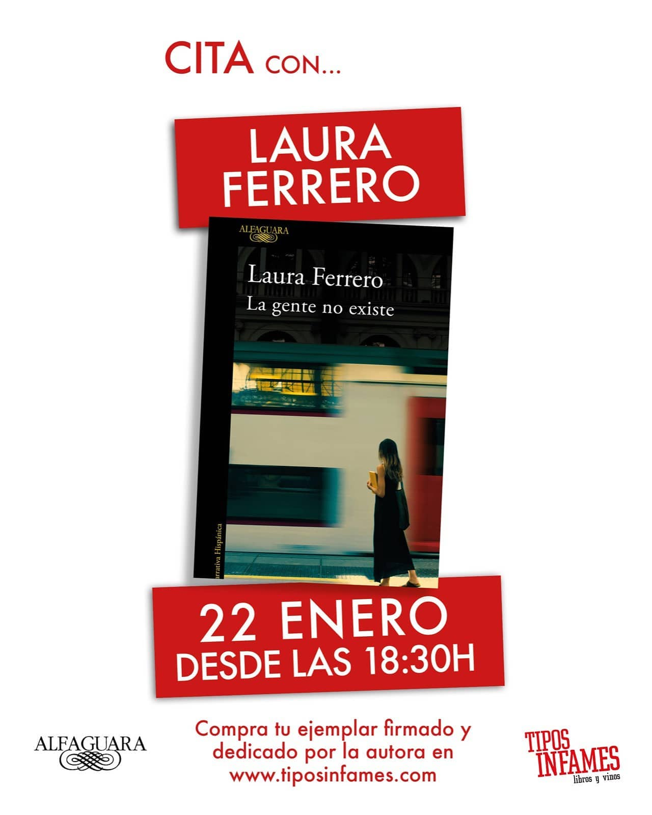 Cita con Laura Ferrero
