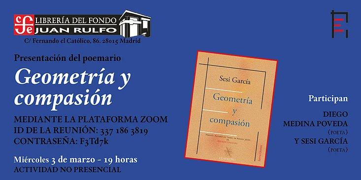 Geometría y compasión en librería Juan Rulfo