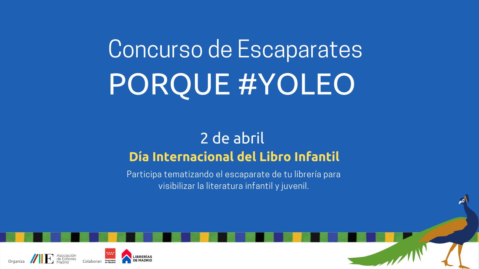 Celebraremos el Día Internacional del Libro Infantil y Juvenil con un concurso de escaparates
