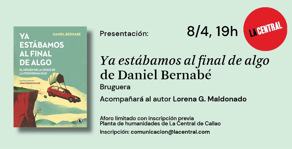 Daniel Bernabé en La Central de Callao