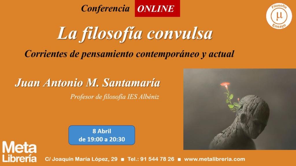 Juan Antonio M. Santamaría en Meta Librería