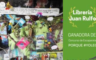 Juan Rulfo concurso de escaparates