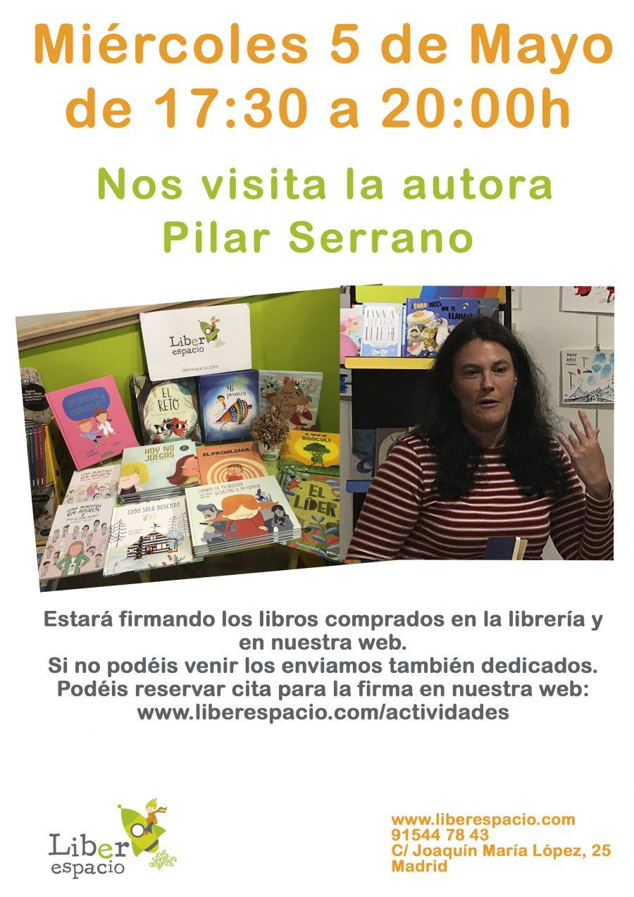 Pilar Serrano en Liberespacio