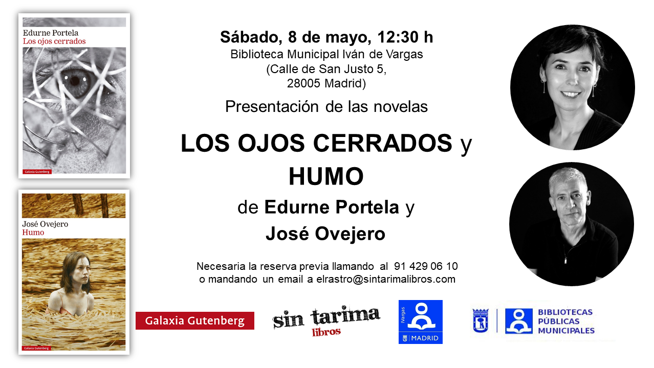 Edurne Portela y José Ovejero Sin Tarima