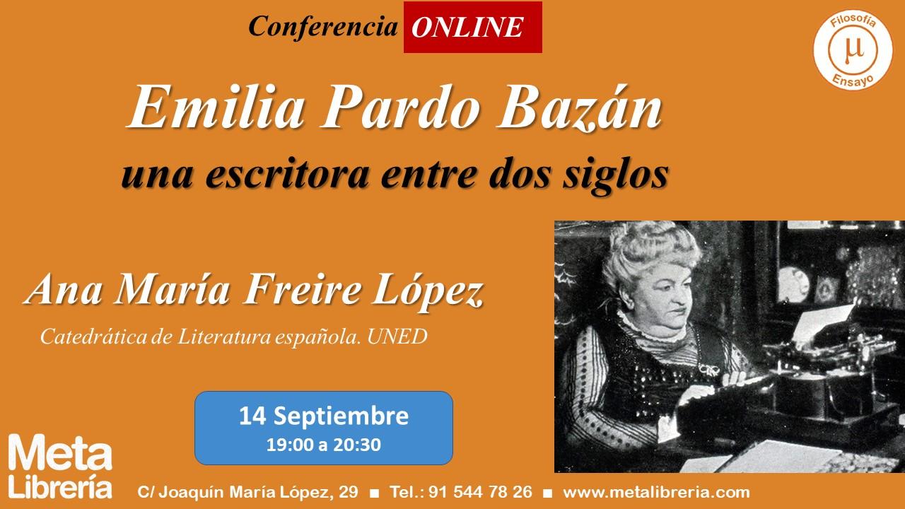 Conferencia Emilia Pardo Bazán