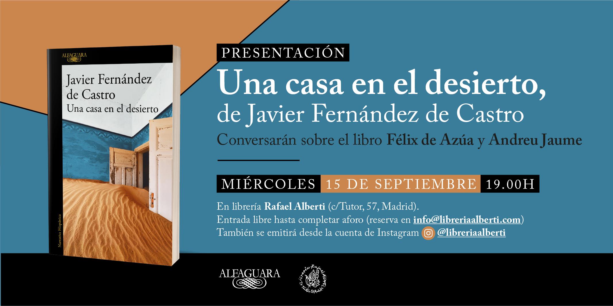 Homenaje a Javier Fernández de Castro en Alberti