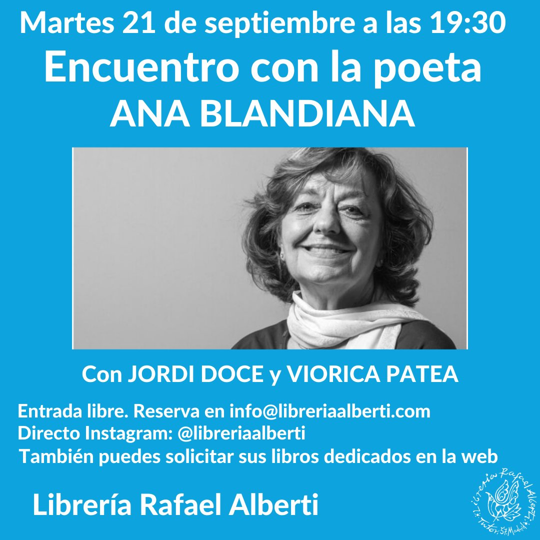 Ana Blandiana en Alberti
