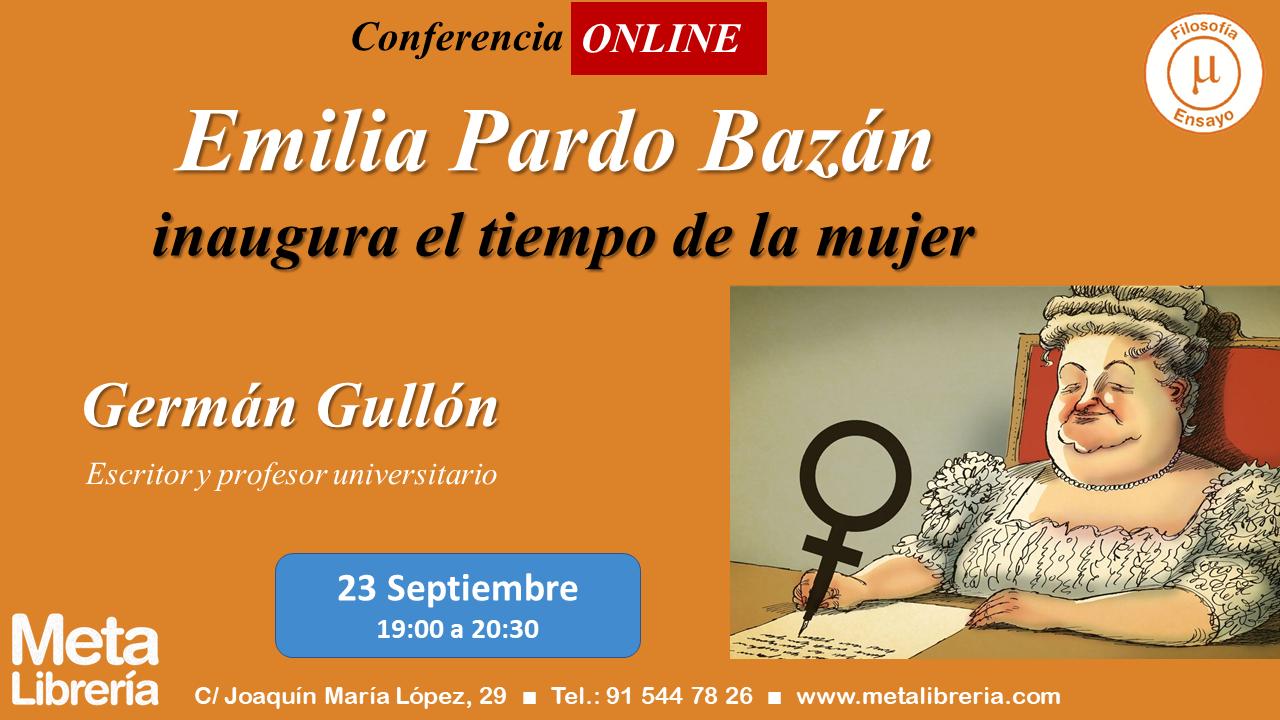 Conferencia Emilia Pardo Bazán Meta Librería