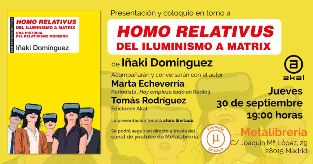 Iñaki Domínguez en Meta Librería