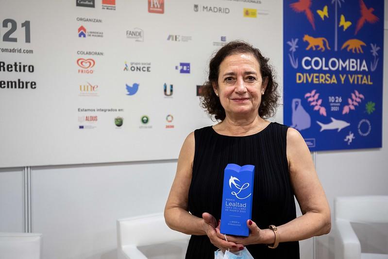 Pepa Arteaga: «La Feria es el mejor lugar para encontrarse con los lectores»