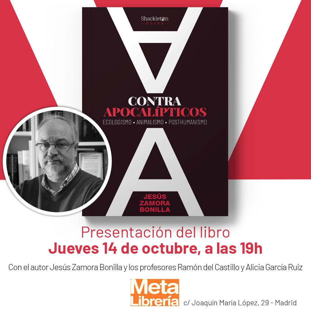 Jesús Zamora Bonilla en Meta Librería
