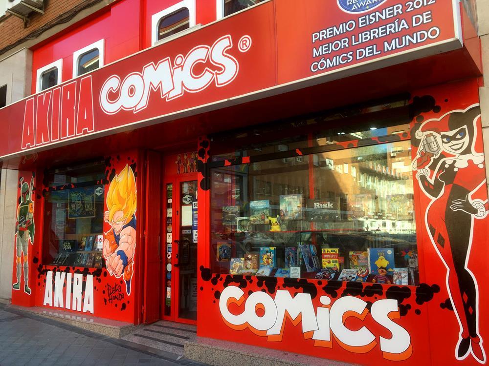 La librería Akira Cómics amplía sus instalaciones e incorpora una nueva sección